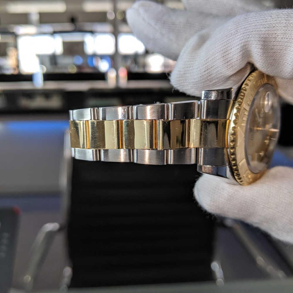 Bi-Metal Oyster Bracelet 3