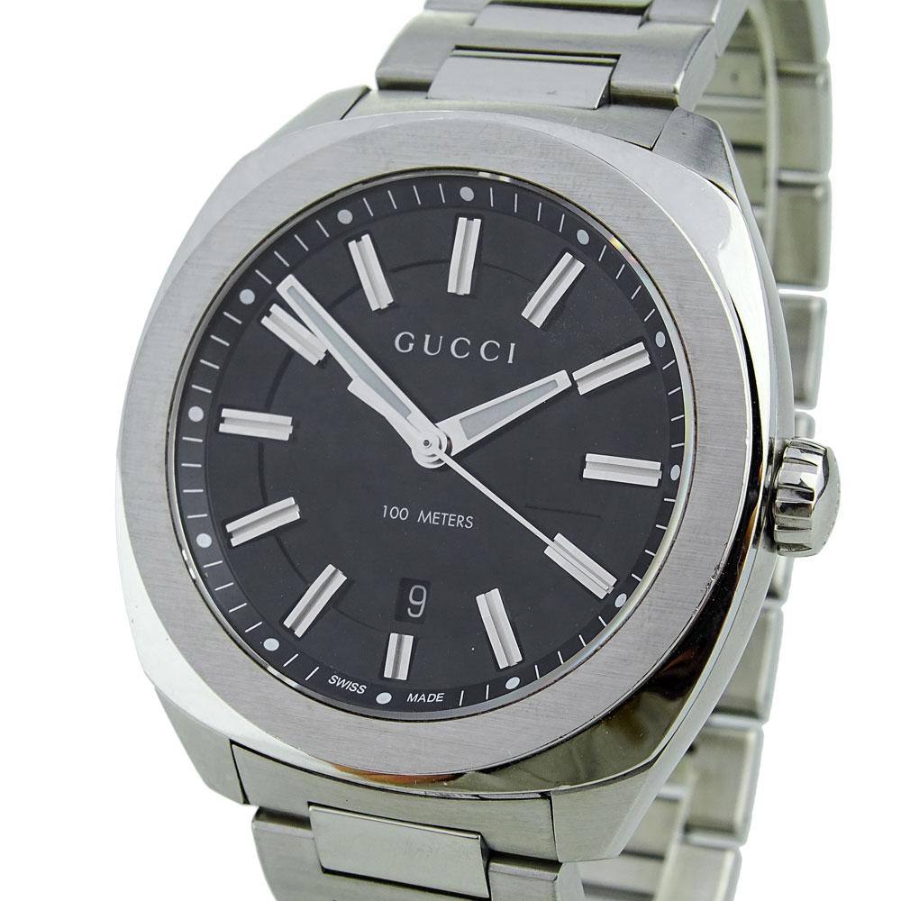Gucci GG2570 Steel Gents Quartz YA142301