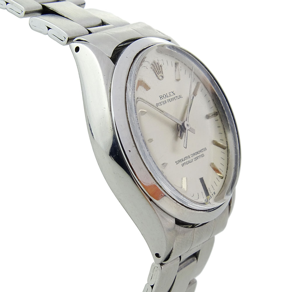 Rolex Oyster Perpetual Steel 1002